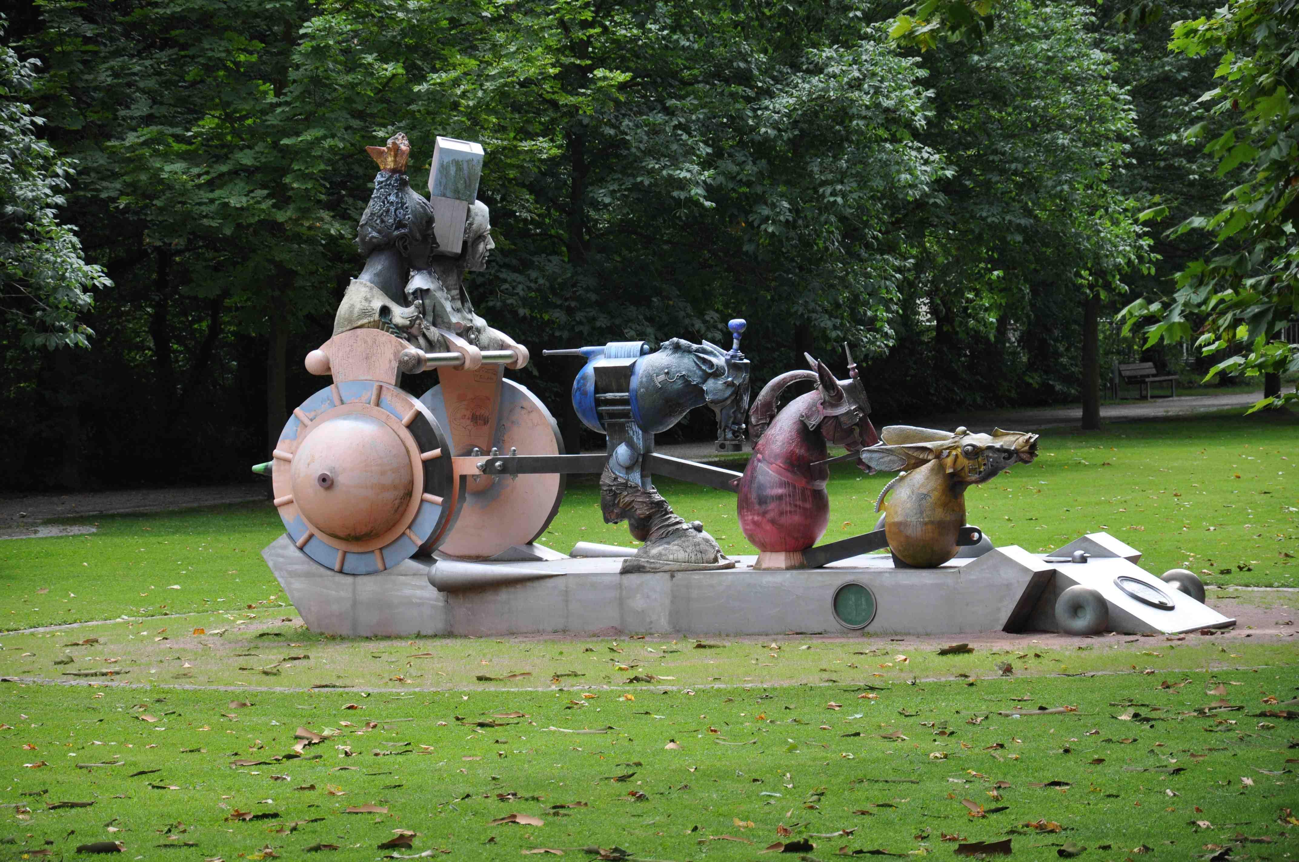 Eichtersheim_Schlosspark05_Skulptur