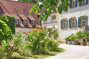 Hotel mit prachtvollem Garten
